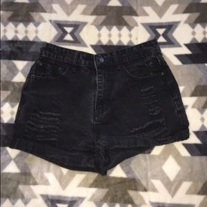 Black shorts from Shein✨